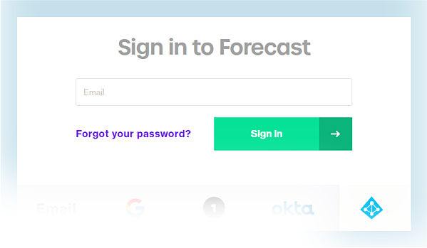 Use Azure Active Directory for Single sign-on to Forecast