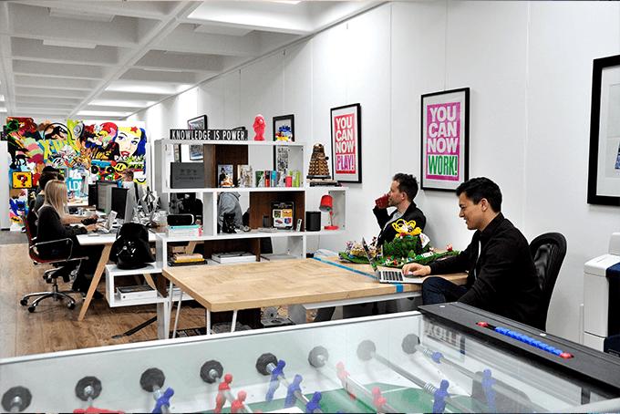 Like Digital Office-environment
