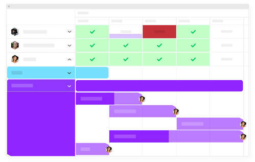 Resource Heatmap and projects in one unified solution