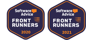 Software Advice Front Runners 2020 & 2021