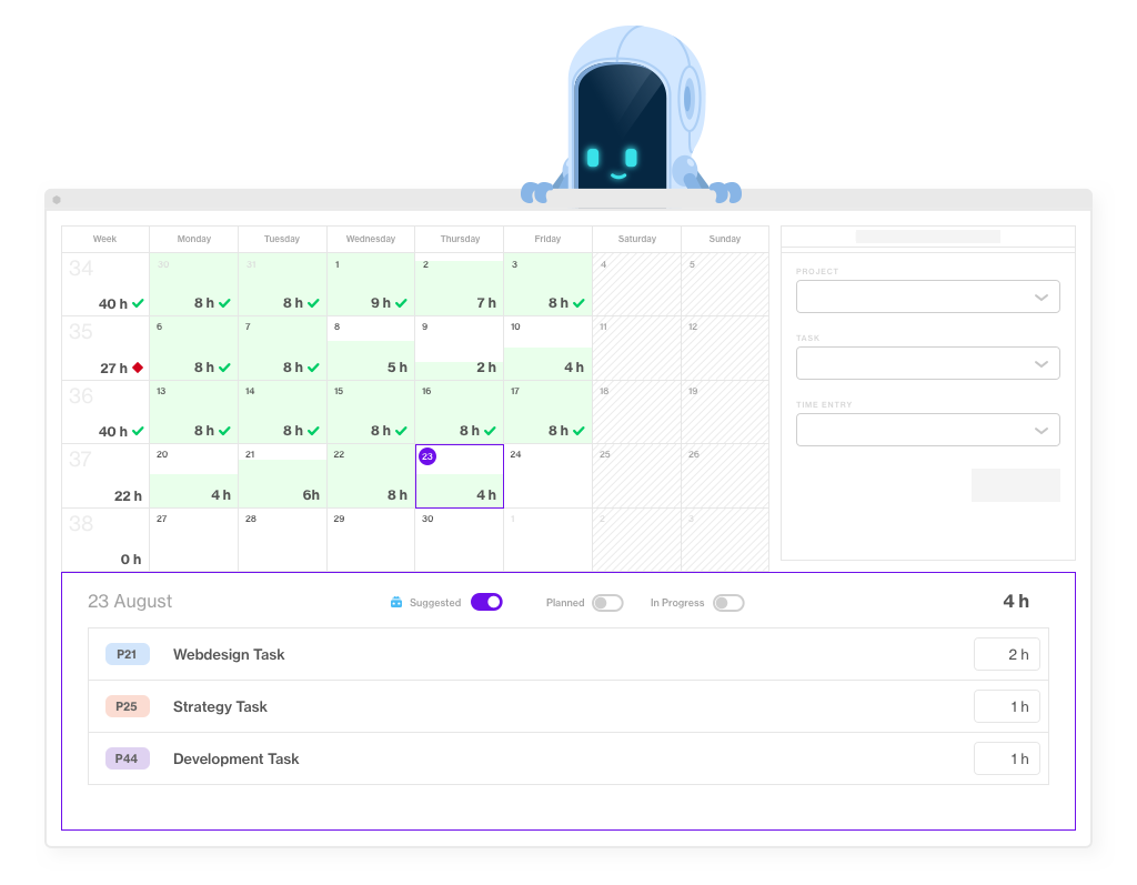 timesheets for effective workload management