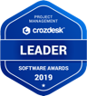 crozdesk-project-management-software-leader-badge