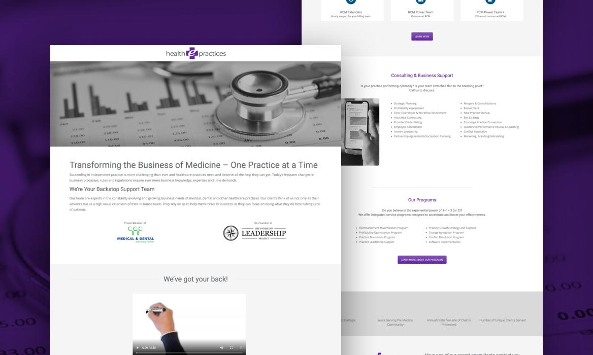 Health e-practices website