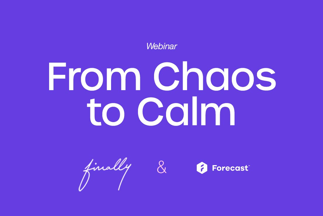 From chaos to Calm with FINALLY Agency